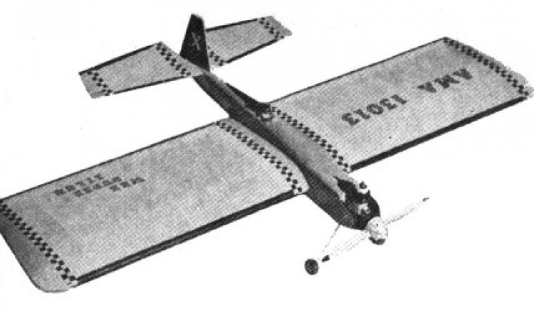 Wee Duper Zilch model airplane plan