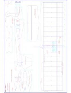 Weekender Model 1 model airplane plan
