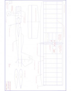 Weekendr Model 1 model airplane plan
