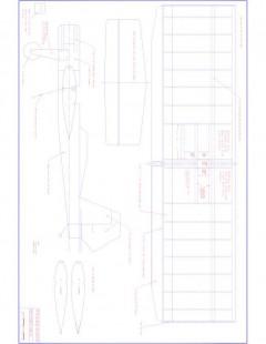 Weekendr Model 1 model airplane plan