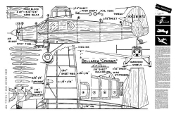 Weis Bellanca Crusair model airplane plan