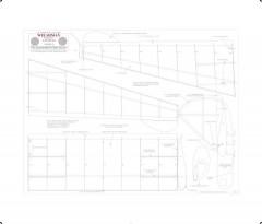 Welshman Print BW model airplane plan