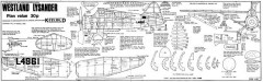 Westland Lysander 2 model airplane plan