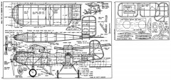 Westland Widgeon III-FM-07-58 model airplane plan