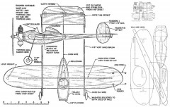 Whee-38 model airplane plan