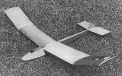 Whisp model airplane plan