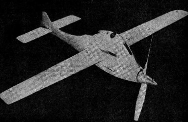 White Fawn model airplane plan