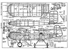Widgeon model airplane plan