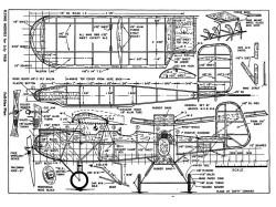 Widgeon model airplane plan