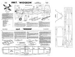 Widgeon 300dpi model airplane plan