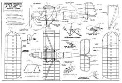 Widgeon full model airplane plan