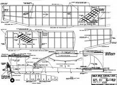 WildGoose model airplane plan