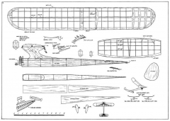 Wild Goose 1967 36 model airplane plan