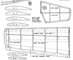 Wildcat 4 model airplane plan