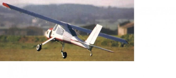 Wilga 35 PZL-104 model airplane plan