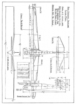 Wind Master p1 model airplane plan