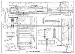 Windbreker CL model airplane plan