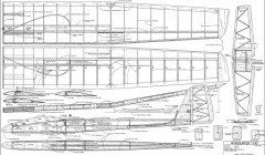 Windsurfer 100 model airplane plan