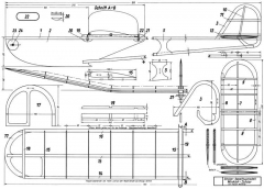 Winkler Junior model airplane plan
