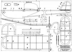 Winkler Junior model airplane plan