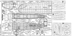 Winnie Mae-FM-01-57 model airplane plan