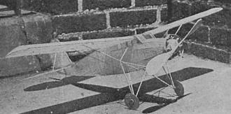 Winning Stinson model airplane plan