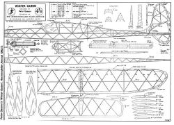 WinterQueen model airplane plan