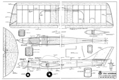 Wireless model airplane plan