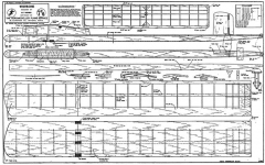 Wishbone model airplane plan