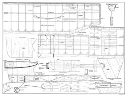 Witch Doctor model airplane plan