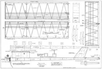 Witch Hawk model airplane plan