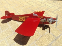 Wittman Buster model airplane plan