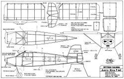Wittman Tailwind model airplane plan