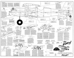 Wizard model airplane plan