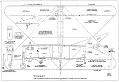 Wombat 2 model airplane plan
