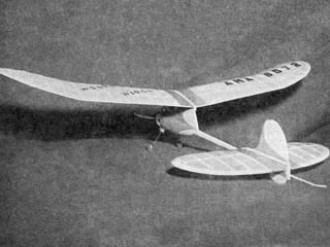 Woodys Wagon model airplane plan