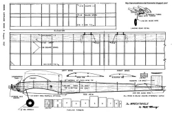 Wrecktangle model airplane plan