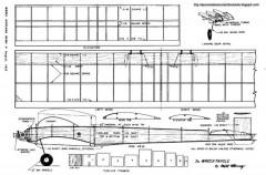 Wrecktangle model airplane plan