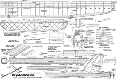 Wyda Wake model airplane plan