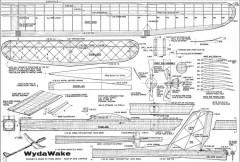 Wyda Wake model airplane plan