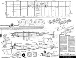 X-pendable Zilch 38 model airplane plan