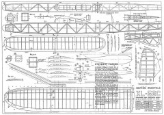 XL-58 model airplane plan