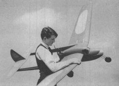 XP-3 model airplane plan