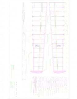 XP04-F02 Model 1 model airplane plan