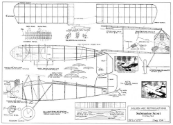 XS-1 Submarine Scout model airplane plan
