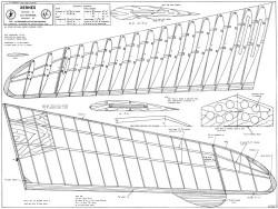 Xernes model airplane plan