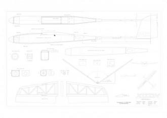 Xiton model airplane plan