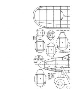 Xp31 model airplane plan
