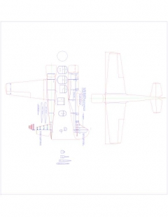 Yak-501 Model 1 model airplane plan