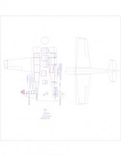 Yak-501 Model 1 model airplane plan